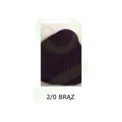 Farba do włosów Allwaves 100ml   2.0 brąz