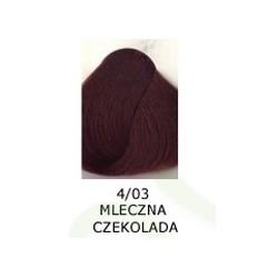 Farba do włosów Allwaves 100ml   4.03 mleczna czekolada