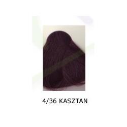 Farba do włosów Allwaves 100ml  4.36 kasztan