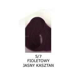 Farba do włosów Allwaves 100ml   5.7 fioletowy jasny kasztan