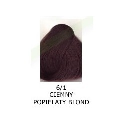 Farba do włosów Allwaves 100ml   6.1 ciemny popielaty blond