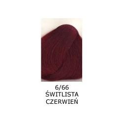 Farba do włosów Allwaves 100ml  6.66 świetlista czerwień