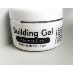 Building Gel Perfect Line Pink Clear 15 ml