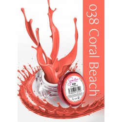 Semilac UV Gel Color 038 Coral Beach 5 ml