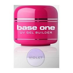 Silcare Żel Base One Violet 30 G