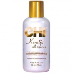Silk Inusion, włosy suche i zniszczone CHI Keratin 15ml