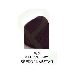 Farba do włosów Allwaves 100ml 4.5 mahoniowy średni kasztan
