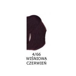 Farba do włosów Allwaves 100ml 4.66 wiśniowa czerwień