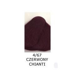 Farba do włosów Allwaves 100ml 4.67 czerwony chianti