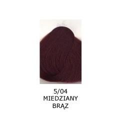 Farba do włosów Allwaves 100ml 5.04 miedziany brąz