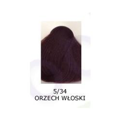 Farba do włosów Allwaves 100ml 5.34 orzech włoski