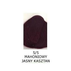 Farba do włosów Allwaves 100ml 5.5 mahoniowy jasny kasztan