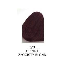 Farba do włosów Allwaves 100ml 6.3 ciemny złocisty blond