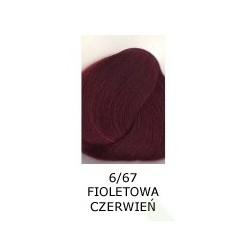Farba do włosów Allwaves 100ml 6.67 fioletowa czerwień