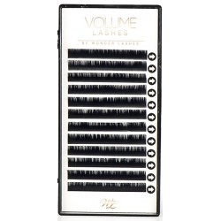 RZĘSY VOLUME LASHES C 0,04 12MM