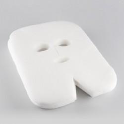 Maski zabiegowe włókninowe 100 sztuk