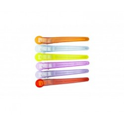 Klipsy Aluminiowo-Plastikowe  6 sztuk