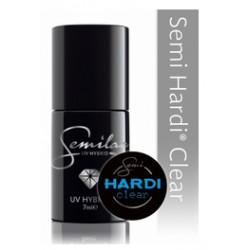 Lakier hybrydowy Sem Hardi Clear (Hard) budujący 7 ml